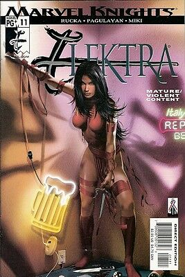Elektra #11 (Marvel Knights) 2001 Series