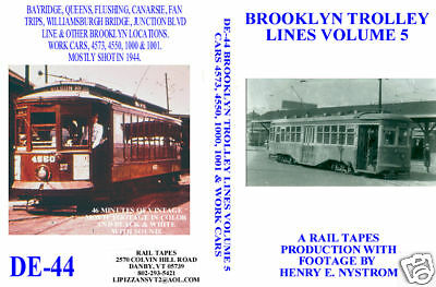 DVD: Brooklyn New York NYC Trolley Volume 5