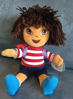 263cb3cb236 Ty Beanie Baby Dora The Explorer World Adventure From France - New With Tags