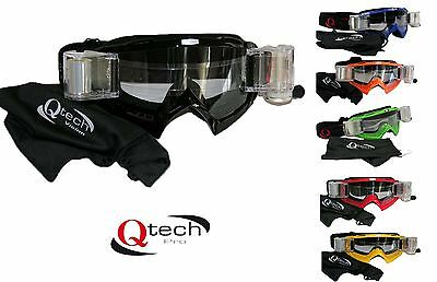 ROLL OFF offs Enduro Motocross GOGGLES MX with Canisters - Colour Choice
