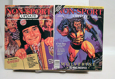 1990s Lot of 2 Non-Sports Update Trading Card Magazine (L6753-MH)