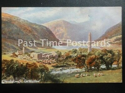 c1908 - Glendalough, Co Wicklow - Artist Illustration