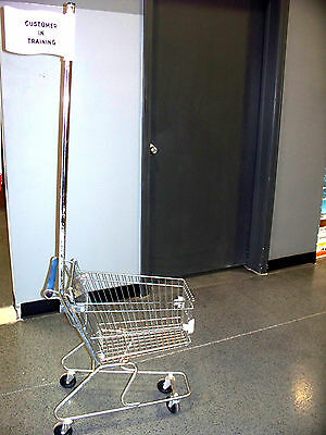 Child's Steel Shopping Cart Training - Retail & Resale Store Fixture Equipment