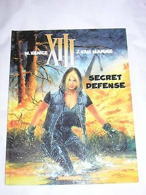 Bd Xiii N° 14 / Secret Defense / Eo Oct 2000 / Tres Bon Etat