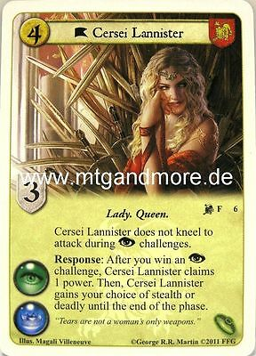 A Game of Thrones - 1x Cersei Lannister  #006