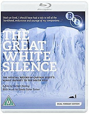 The Great White Silence - [Dual Format Edition - DVD & Blu ray] NEW & SEALED