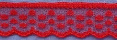 20mm Red Lace #1