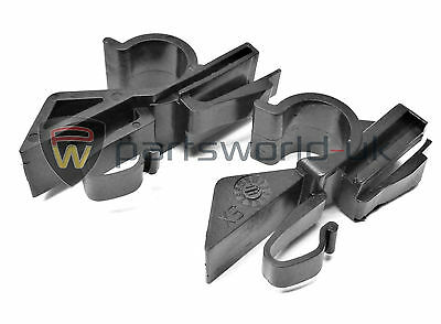 Pair of Fiat Abarth Grande Punto & Evo Rear Parcel Shelf Clips 100% GENUINE