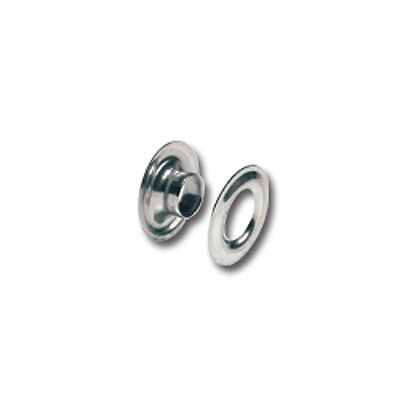 """Tandy Leather #00 Grommets Nickel plated Brass 3/16"""" 10 pack 11290-02"""