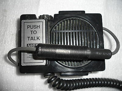 MSA SCBA Vari-Clear Personal Communication System Voice Amplifier Model #496825