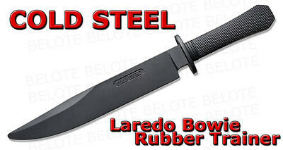 Cold Steel Rubber Laredo Bowie Training Practice Knife Trainer 92R16CCB *NEW*