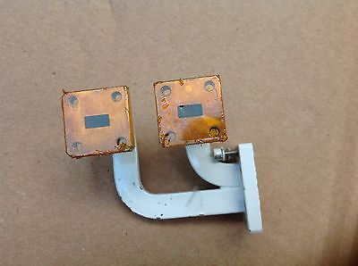 Rf microwave part 26GHZ-40GHZ WR28  WAVEGUIDE ADAPTER 4 PORTS