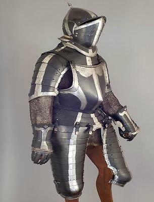 South German Black & White Officer's 3/4 Armor, ca. 1560-70 PRICE REDUCED