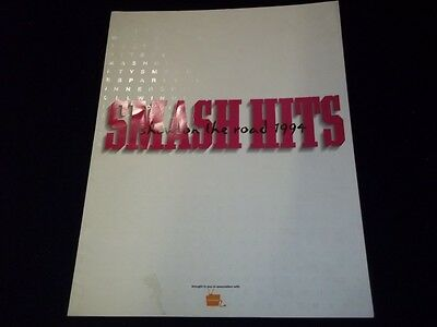 1994 Smash Hits Show On The Road Program - Great Photos - Take That+ - Ii 7909