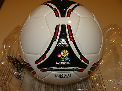 """2012 Euro European Soccer Cup Tournament 4"""" Inch Competition Ball Replica New"""