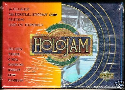 1993-94 Upper Deck Holojam NBA Factory Set   Michael Jordan Shaquille O'Neal ++