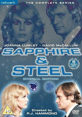 Sapphire And Steel: The Complete Series - NEW & SEALED DVD (6 Discs)