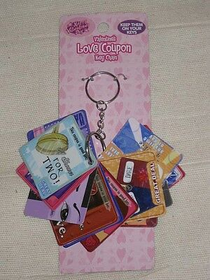 Love Coupons key chain
