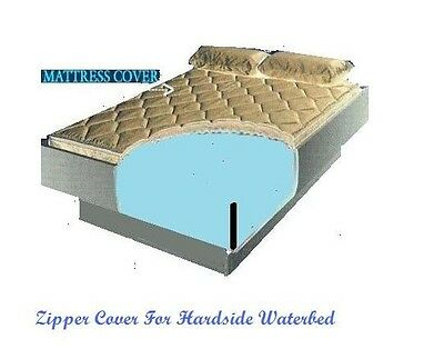 California King Zipper Mattress Cover For Cal King Hardside Waterbed Mattresses