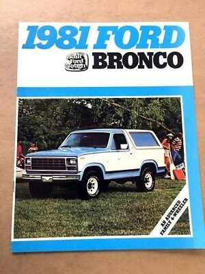 "1970-1980 New Vintage Embroidered Vintage  Ford Bronco  2/"" x 3/""  Patch NOS"