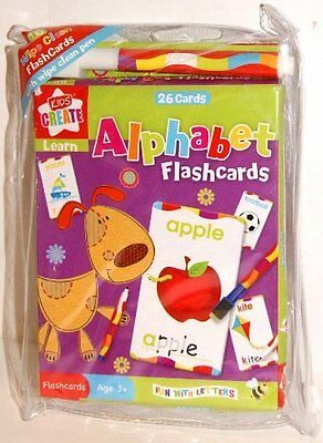 Educational Flashcards - Kids / Childrens Educational Resource New (F001)