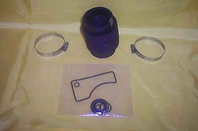 Mercruiser Exhaust Bellows Bravo Rubber Boot W Drive Gasket New! clamps both end