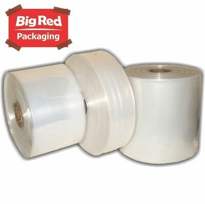 1 Roll of Poly Tubing 300mm x 450m 100um for Heat Sealers Tube