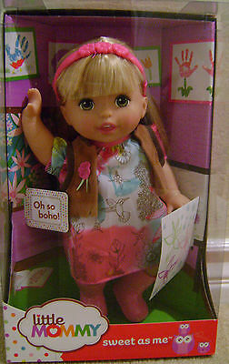 Fisher Price Little Mommy Sweet As Me Oh So Boho Girl *new*