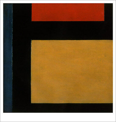 MODERNE THEO VAN DOESBURG CONTRA COMPOSITION 9 Plakat Poster