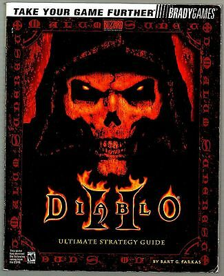 DIABLO II 2 Official ULTIMATE Strategy Guide ILLUSTRATED WITH CHEATS, TIPS, HINT