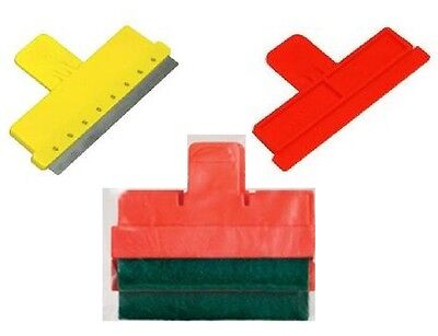 SCRAPER BLADE REPLACEMENTS (Glass / Acrylic / Mops) Great Value