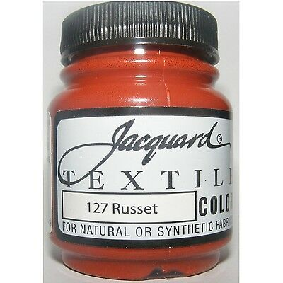 'russet ' Natural Or Synthetic Fabric Paint