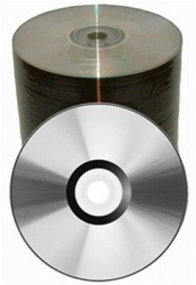 500 Spin-X 52x CD-R 80min 700MB Clear Coat Top