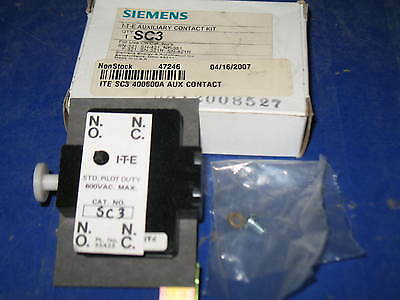 Siemens Sc3 Ite Auxiliary Contact Kit