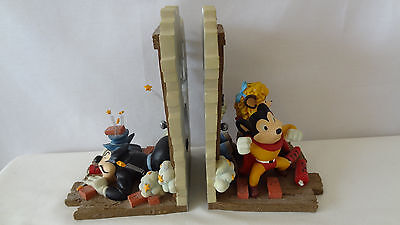 Terrytoons 1997 Mighty Mouse And Pearl Bookends #c256