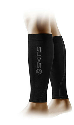 Skins Compression Calf Tights MX UNISEX Schwarz/Charcoal