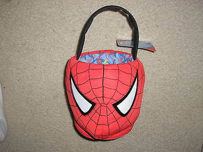 New with Tag Plush Spider Man Easter Basket