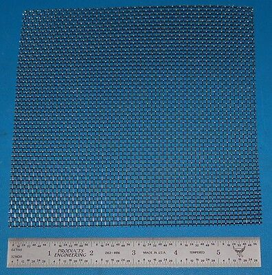 """Stainless Steel 10-Mesh (2000 micron), .023"""" Wire, .077"""" Wd, 6x6"""""""