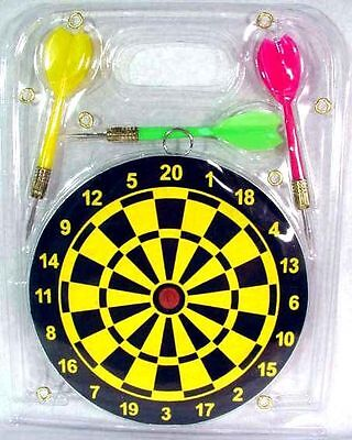 New Dart Board & Darts Game Set Perfect for Man Cave Game Room