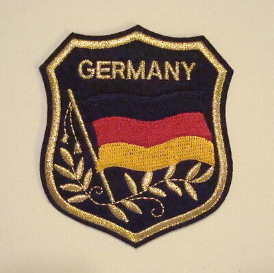 GERMANY German Country FLAG Souvenir Travel PATCH