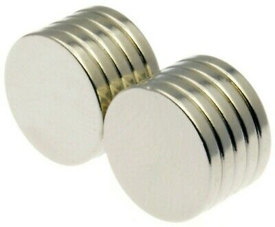 9mm Dia x 3mm Super Strong Magnets * Pull force 1.5Kg Powerful Disc Magnet