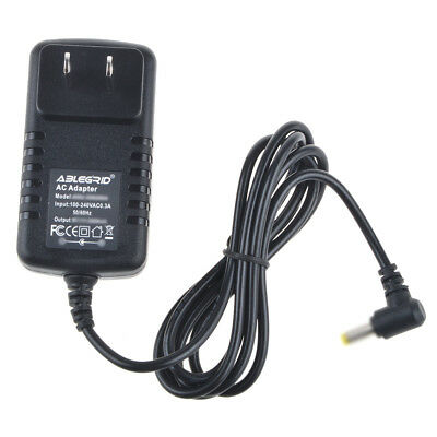AC/DC Adapter For GPX PD808BU PD730W Portable DVD Charger Power Supply Cord PSU