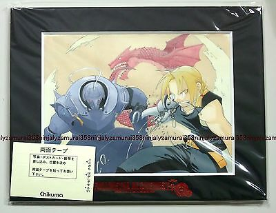 Fullmetal Alchemist Art Collection vol.3 mini picture w/frame official anime