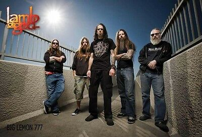 "Lamb Of God Music Poster #1 23""x34"""