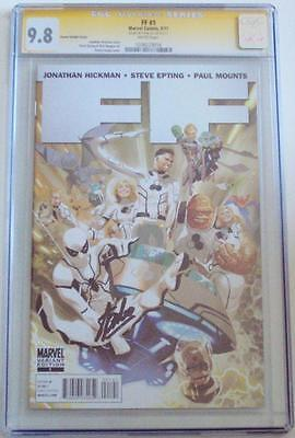 Ff #1 Variant Cgc 9.8 Ss Signature Series Signed Stan Lee Fantastic Four Movie