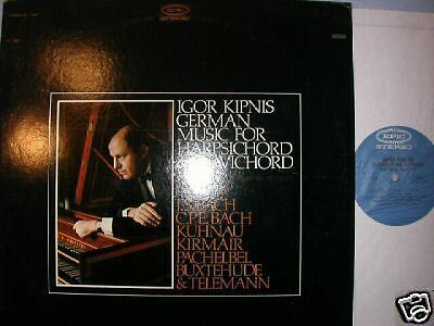 Epic Bc Igor Kipnis Germanmusic Harpsichord Clavichrord