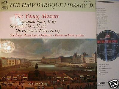 Hmv Hqs Mozart Cassation No 1 Paumgartner