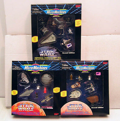 Set of 3 Star Wars Boxed MicroMachines Gift Set-Rebels & Imperials- MIB (112002)