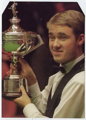Scarce Trade Card of Stephen Hendry, Snooker 1997
