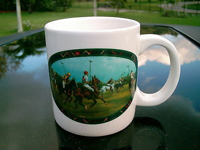 Ralph Lauren Polo Scene Mug Ready For Morning Coffee Clearance Priced